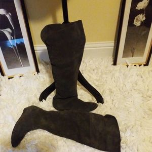 Steven Over the Knee Sued Boots